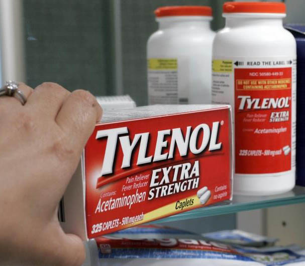 What is the max dosage of acetaminophen ?